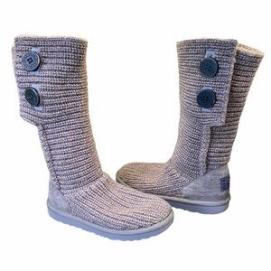 Ugg Knit Boots - Size 4